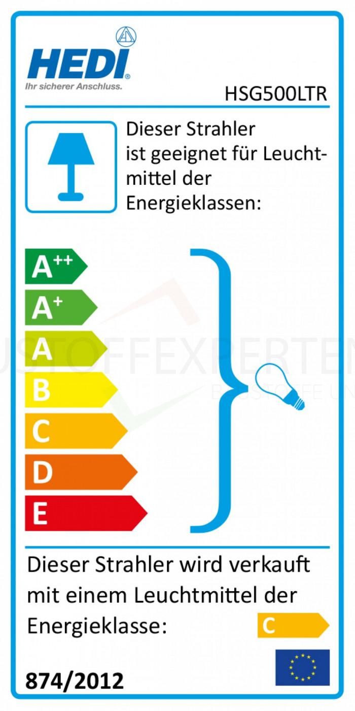EU Energietabelle - Energieklasse C