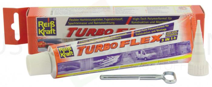 MS-Polymer-Kleber Turboflex 3:1 Dicht- & Klebstoff, weiß, Tube 80ml