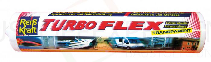 MS-Polymer-Kleber Turboflex transparent Dicht- & Klebstoff, 290ml