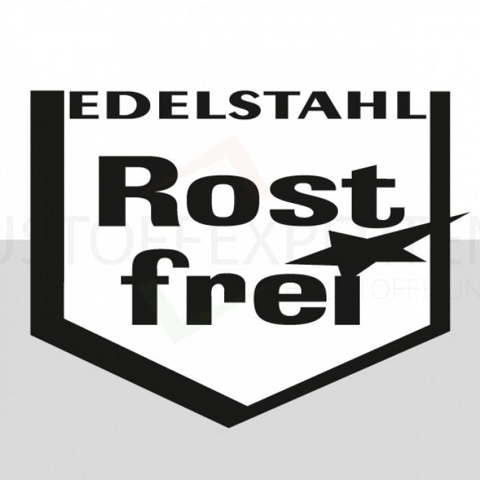 Symbol: Edelstahl Rostfrei