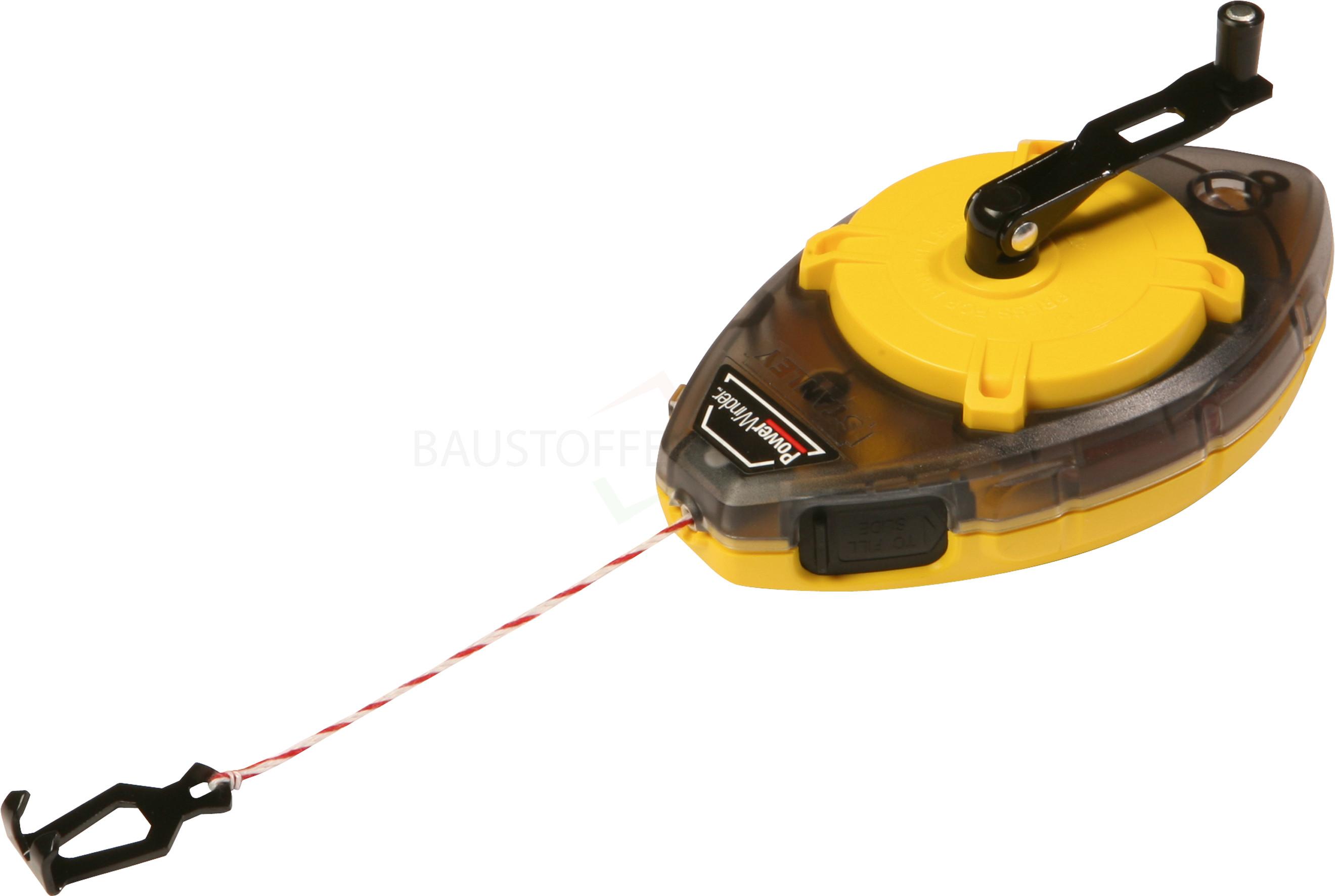 Stanley - Schlagschnurgerät PowerWinder, 30m