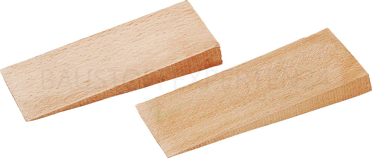 Holz-Baukeile 180 x 80 x 20mm, 10 Stück