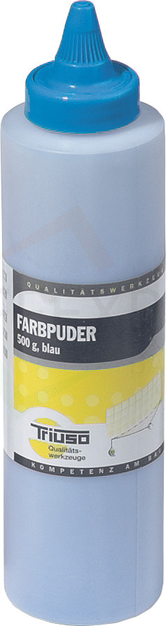 Farbpuder für Schlagschnur, blau, 115g, Premium-Line