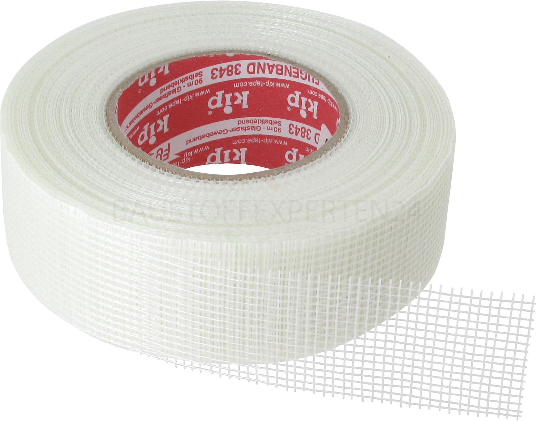 kip - Fugenband 3843, Glasfaserband, 48mm x 90m