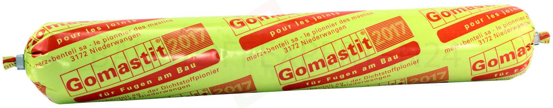 Gomastit 2017 - universeller 1-K-Dichtstoff, betongrau, 600ml, Vorderseite