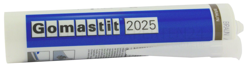Dichtstoff für Parkett- und Anschlussfugen, Braun, Gomastit 2025, 310ml