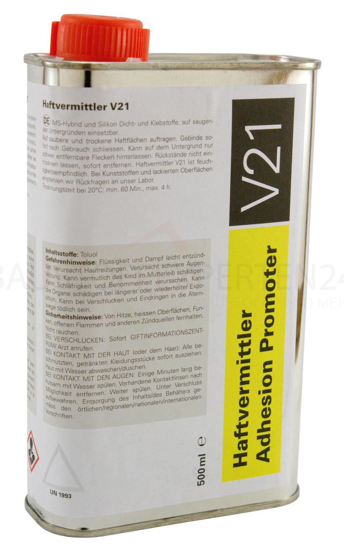 Primer / Haftvermittler V21 für poröse Untergründe, 500ml