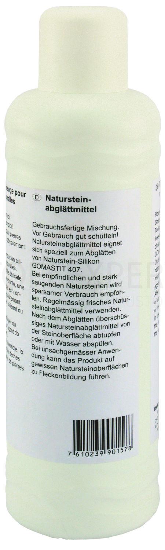 Abglättmittel für Naturstein, 1L Flasche