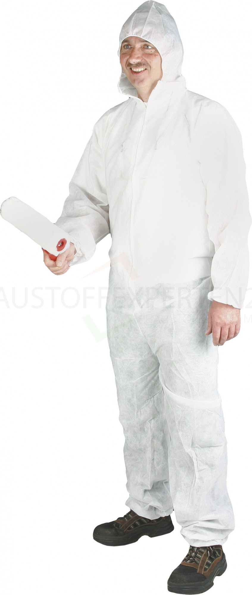 Schutzoverall aus Polypropylen, weiß