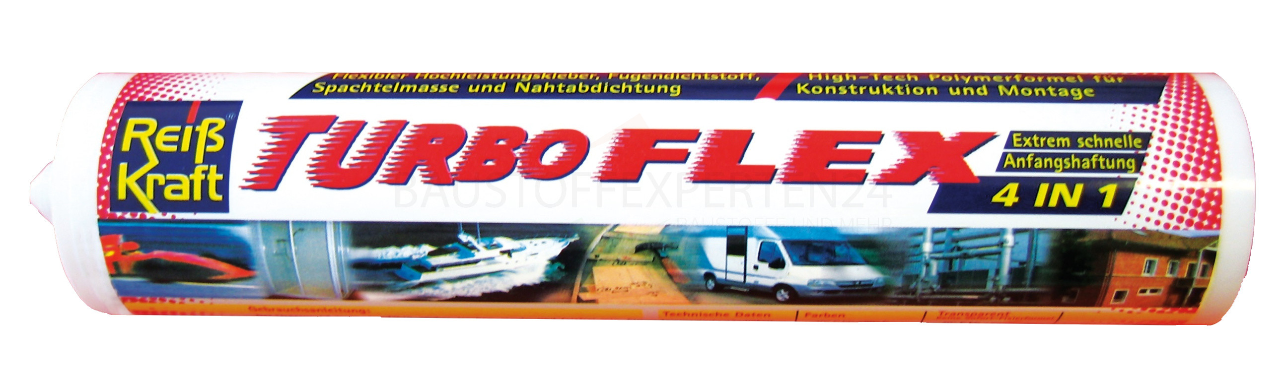 Turboflex 4:1 Dicht- & Klebstoff SMP MS-Polymer weiß, 290ml