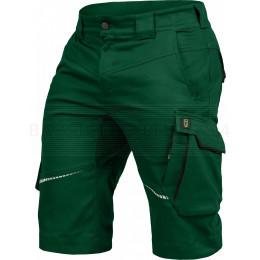 Arbeitsshort Flex-Line von Leibwächter, grün / schwarz, Bild 1