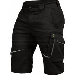 Arbeitsshort Flex-Line von Leibwächter, schwarz / grau, Bild 1
