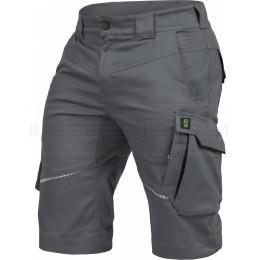 Arbeitsshort Flex-Line von Leibwächter, grau / schwarz, Bild 1