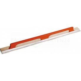 Alu-Kartätsche mit Holzgriff, einseitig 5 x 6mm gezahnt