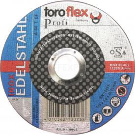 Profi - Metall-Trennscheibe Inox toroflex 125 x 1,0mm