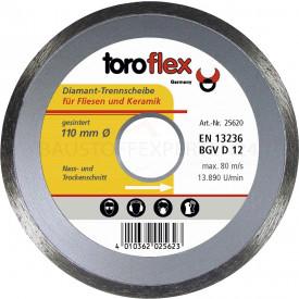 toroflex - Profi Spezial Diamant-Trennscheibe, 110mm