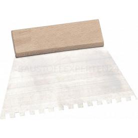 Klebespachtel, Rechteckzahnung, Rechteckzahnung, 4 mm - C1