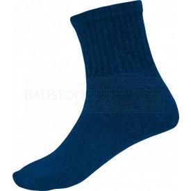 4 Paar Kurzsocken, marineblau, 39 - 42