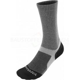 Funktions-Socken, schwarz / grau
