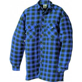 Thermo-Hemd, blau kariert
