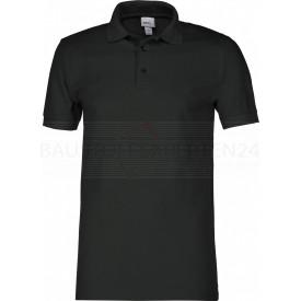 Polo-Shirt, schwarz
