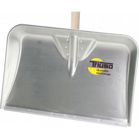 Triuso-Alu-Muldenschaufel, mit Kunststoff-Gleitkante, 56