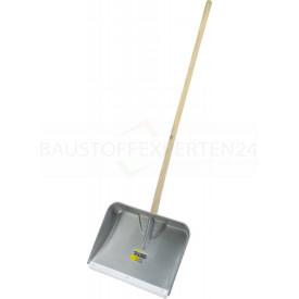 Alu-Muldenschaufel mit Kunststoff-Gleitkante, 46cm, Bild 1