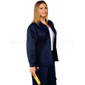 Basic, Bundjacke, 250 g/m², marineblau