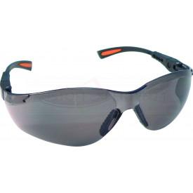 Schutzbrille grau getönt mit Anti-Scratch und Anti-Fog