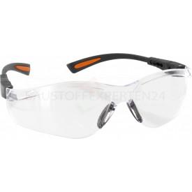 Schutzbrille klar mit Anti-Scratch und Anti-Fog