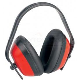 Kapselgehörschutz SNR 19dB von Triuso, rot