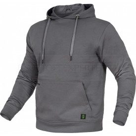 Hoodie Flex-Line von Leibwächter, grau, Bild 1