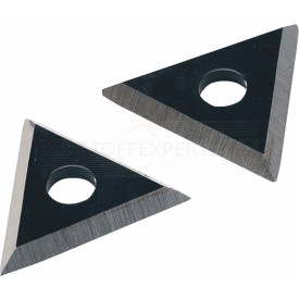 Dreieckhartmetallklinge, 2 Ersatzklingen