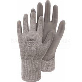HPPE Palm PLus - PE-Strickhandschuh mit PU, Polybeutel, Polybeutel, Größe 6/S