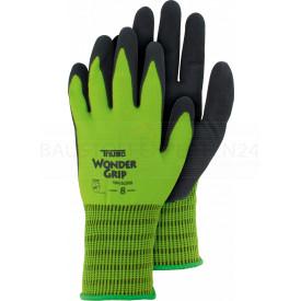 Handschuhe Wonder Grip - Oil 510 mit Nitril, neongrün, Größe 9