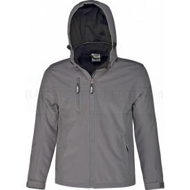 Softshell-Jacke Power, atmungsaktiv, wind- und wasserabweisend, grau