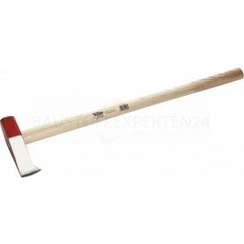 Spalthammer mit Eschenstiel von Triuso, 3000g / 870mm