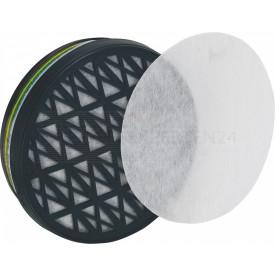 Ersatzfilter für Farbspritzmaske, Schutzstufe A1