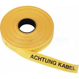 Trassenwarnband, gelb, 250m x 40mm