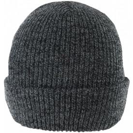 Strick-Beanie grau, Bild 1