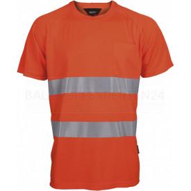 Coolpass-T-Shirt, Warnschutz, leuchtorange