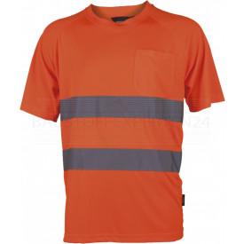 T-Shirt, Warnschutz, leuchtorange