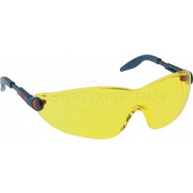 Komfort-Schutzbrille mit Anti-Scratch und Anti-Fog von 3M, gelb getönt