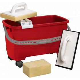 Fliesenleger-Waschset 22 Liter Premium, 4-teilig