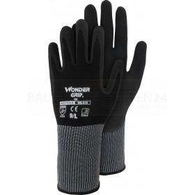 Handschuhe Wonder Grip - Oil 510 mit Nitril, schwarz
