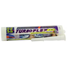 Turboflex 3:1 Easypress Dicht- & Klebstoff, weiß, 290ml
