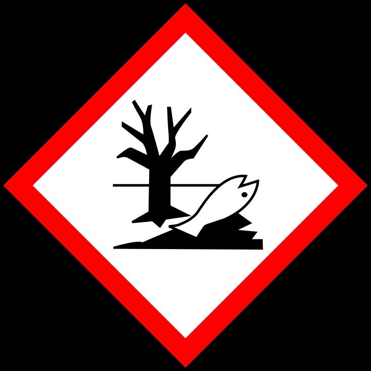 H411 Giftig für Wasserorganismen, mit langfristiger Wirkung.